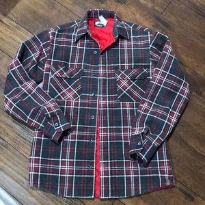 Vintage Fieldmaster Lined Flannel Shirt Jacket